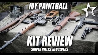 MY PAINTBALL SNIPER RIFLES: revolvers and Pistols
