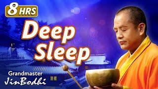"8 Hour Deep Sleep Music | ""Life Is a Dream"" (Healing Series) #SingingBowls"