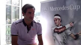 Interview: After Great Start, Roger Federer Eager For MercedesCup Return