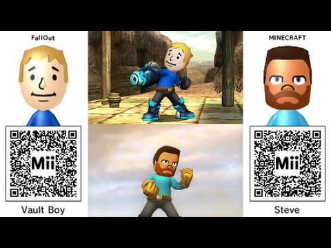 Mii qr codes are you ready for smash bros youtube
