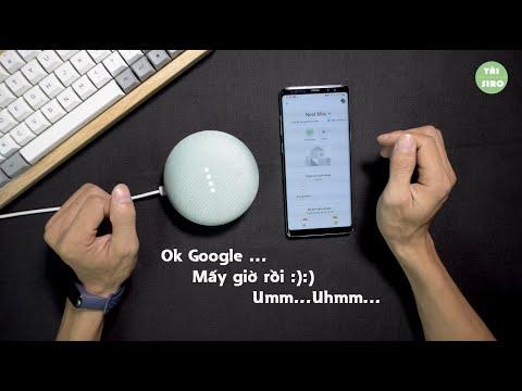 Cài đặt mới Google Home Mini - Tiếng Việt có trở lại không??