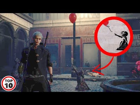 Easter Eggs You Missed In Devil May Cry 5 thumbnail