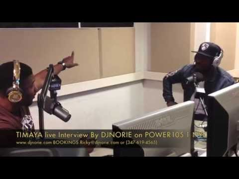 TIMAYA Interview w/ DJNORIE ON POWER105.1