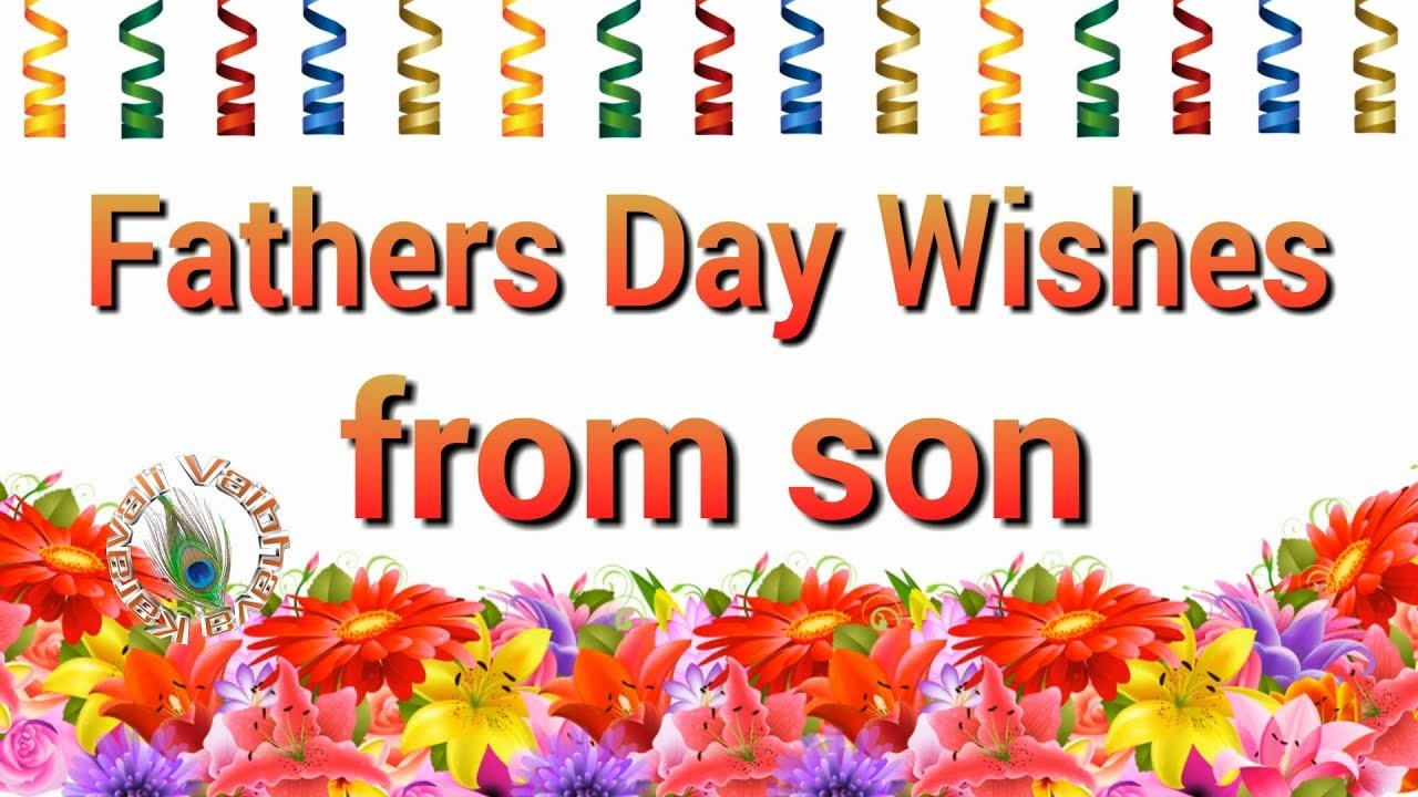 Happy Fathers Day 2018fathers Day Wishes From Sonquotesimages