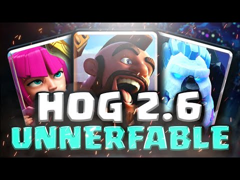 OLDEST CLASH ROYALE META DECK!? Hog 2.6 Ladder Push