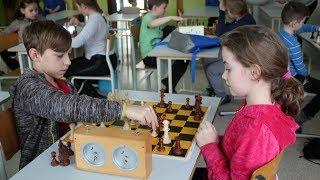 Turniej szachowy dla dzieci w SP nr 10