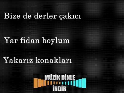 İzmirin Kavakları - Karaoke