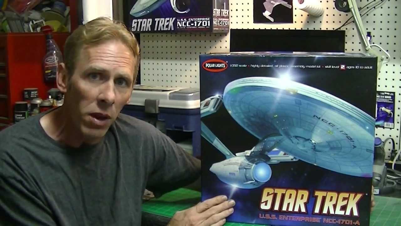 Star trek uss enterprise ncc refit 1 scale model - Project 350 Pt Iii Polar Lights 1 350 Scale U S S Enterprise Refit Buildup Youtube