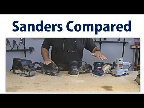 Wood Sander Overview - Beginners #12 -  woodworkweb