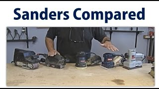 Wood Sander Overview - Beginners #12 -  A Woodworkweb Woodworking Video