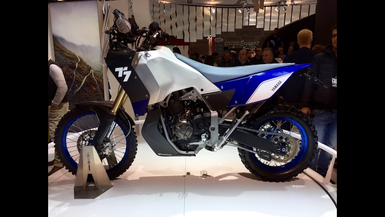 2017 New Yamaha T7 Tenere First View Eicma 2016 Youtube