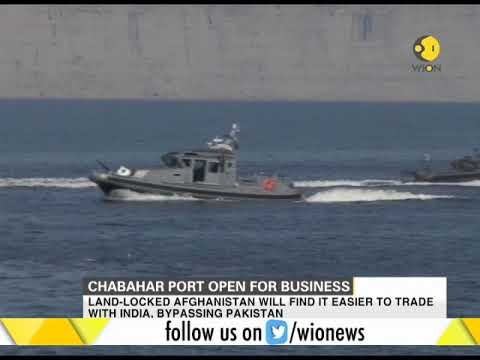 Chabahar port open for business