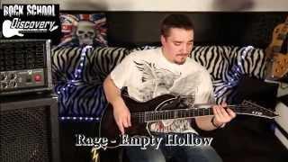 Рок-школа Discovery - Вячеслав Степин (Rage - Empty Hollow)