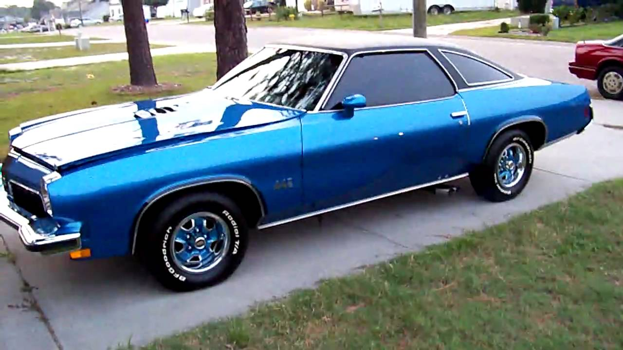 1973 442 Youtube Oldsmobile Hurst Olds
