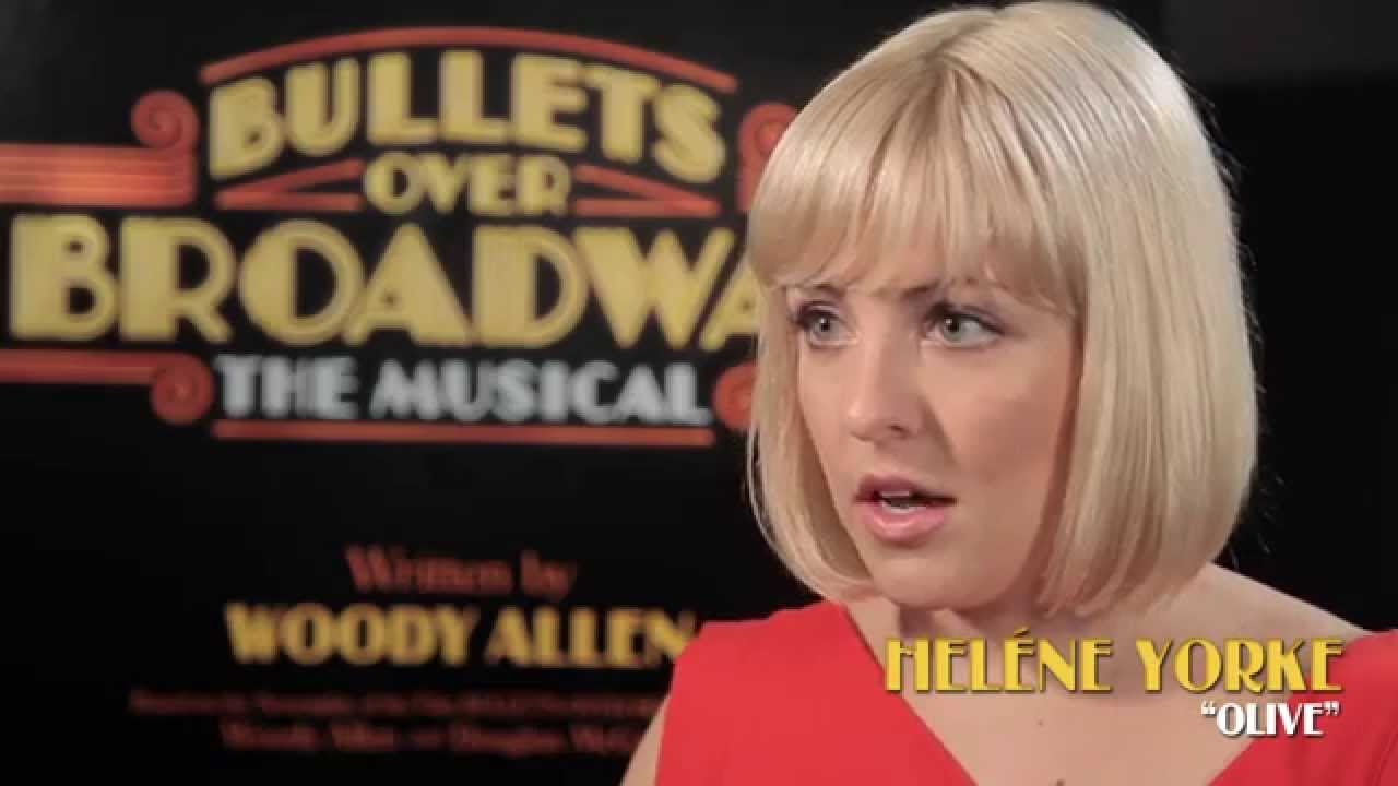 Heléne Yorke Discusses Working on BULLETS OVER BROADWAY