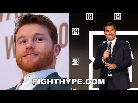 (WOW!) CANELO SIGNS WITH DAZN; EDDIE HEARN EXPLAINS HOW HE'LL GET PAID MORE THAN ANYPLACE ELSE