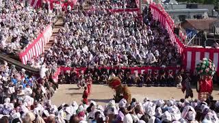 2018年 長崎くんち 諏訪神社 小川町 唐獅子踊り 奉納