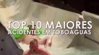 ACIDENTES EM TOBOÁGUAS RADICAIS