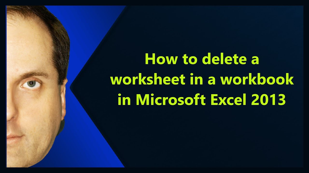 worksheet How To Delete A Worksheet In Excel how to delete a worksheet in workbook microsoft excel 2013 2013