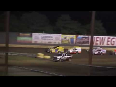 New Egypt Speedway 358 Modified Feature July 15,  2017 Pt. 1
