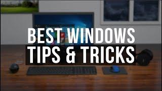 10 Windows Tricks EVERYONE should be using! - 2018