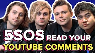 5SOS Read Your Weird AF YouTube Comments