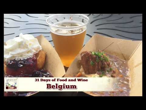 Belgium - Day 26 of Epcot's Food & Wine Festival 2016