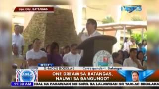 One Dream sa Batangas, nauwi sa bangungot