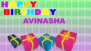 Avinasha - Card Tarjeta_856 - Happy Birthday