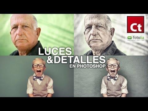 Tutorial Photoshop + Plugins // Retratos con detalle by @Conecta