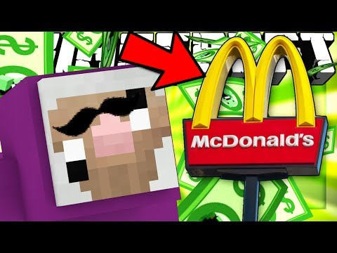 Thumbnail: If You Could Have JOBS in MINECRAFT (McDonalds in Minecraft)