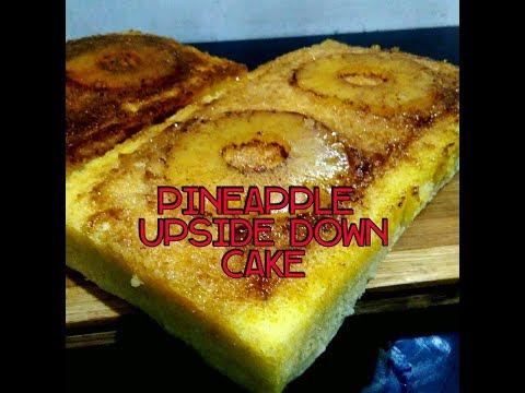 Pineapple Upside Down Cake | Homemade Pineapple Upside Down Cake |Steam Cake Recipe