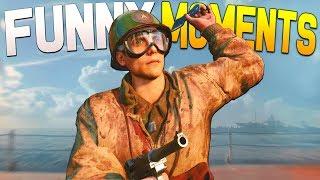 cOD World War 2 Funny Moments - Silly Killcams and Drop Kill Attempts!