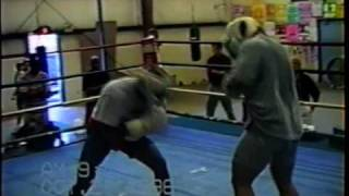 Holyfield vs Tua sparring