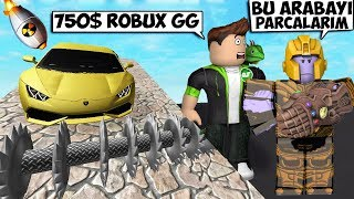 ROBUX HARCADIM DAHA DA HARCIYACA-IM / Roblox Car Crushers 2 / Roblox Tark