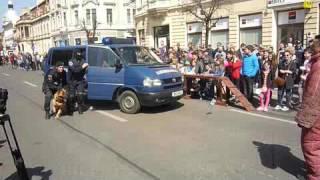 Scandal de ziua jandarmeriei clujene 2016