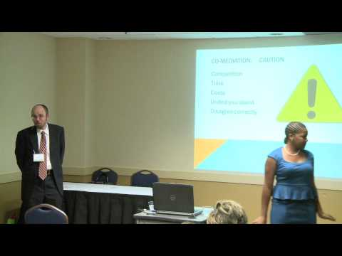 CR Symposium 2012 'Co-Mediation' with Renee Mack Jones and R