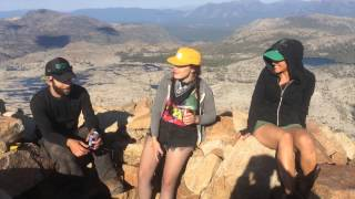 Pyramid Peak Desolation Wilderness