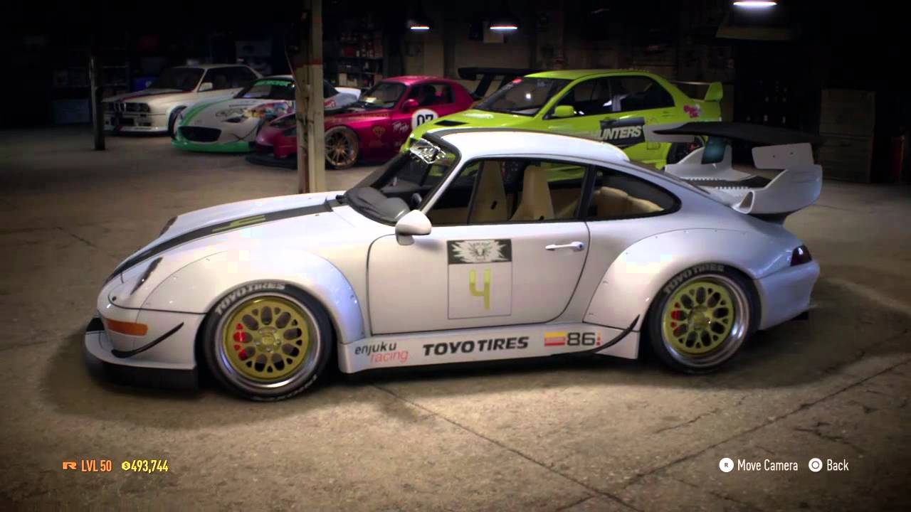 need for speed my custom porsche 911 carrera s 993. Black Bedroom Furniture Sets. Home Design Ideas