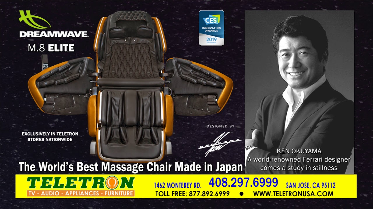 Best Massage Chair In The World World Best Massage Chair Made In Japan New Dreamwave M 8 Elite