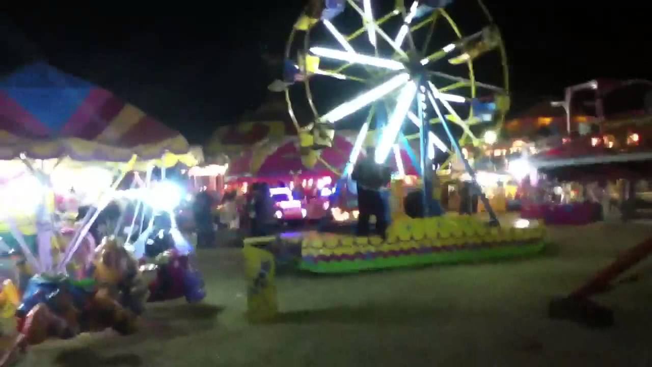Juegos mecánicos de la Feria Guadalupana