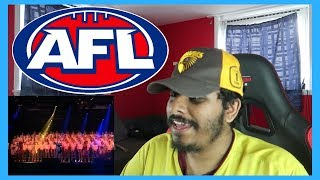 Reaction to AFL Club Theme Songs - Centenary Celebrations Edition