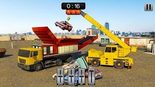 Old Car Crusher Crane Operator & Dump Truck Driver (by Prism apps and Games) Android Gameplay [HD] screenshot 3