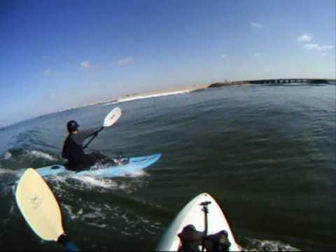Surf Kayaking Huntington Beach California