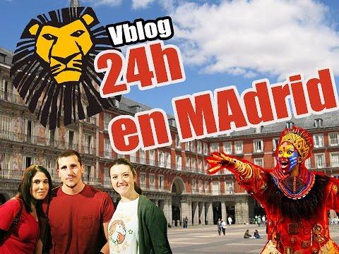 Vblog | un día en Madrid | Musical El Rey León | turismo breve