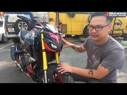 Yamaha TFX 150 Độ Khủng Thành Yamaha MT09. TFX150 Độ Bánh 180 Siêu To KHỔNG LỒ? Khẳng Định Ngôi Vua.