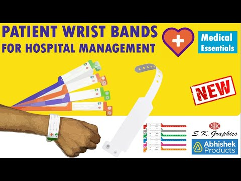 Hospital Wrist Bands For Patients (Patient Identification Bands) | ABHISHEK PRODUCTS | S.K. GRAPHICS