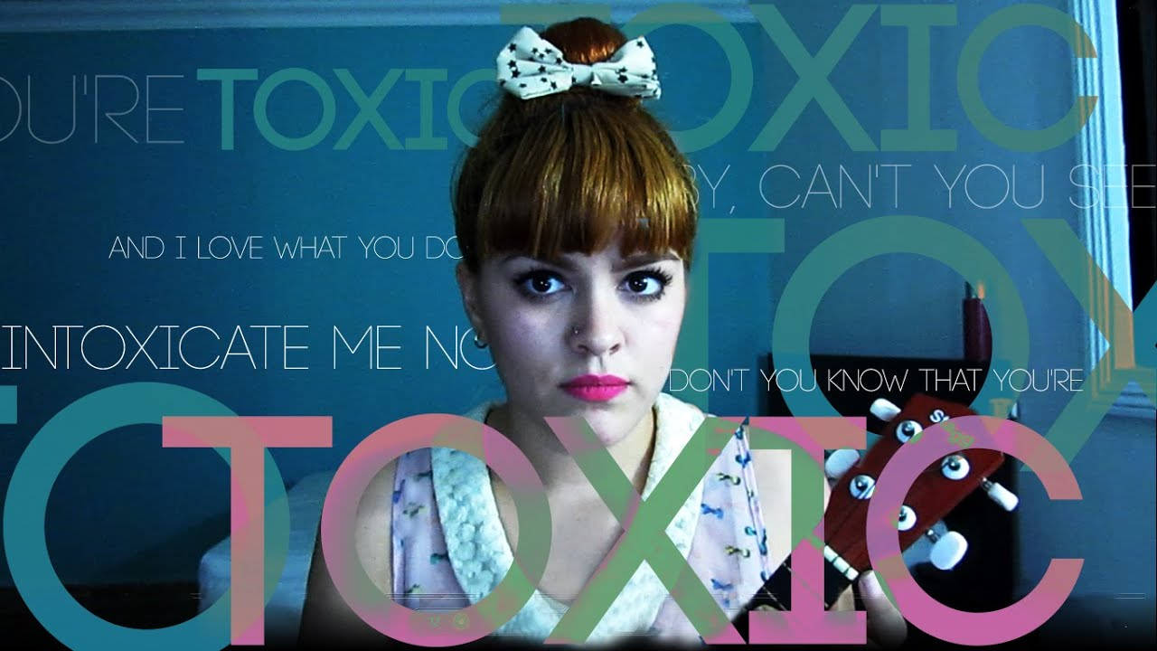 Toxic - Melanie Martinez (Ukulele Cover) - YouTube