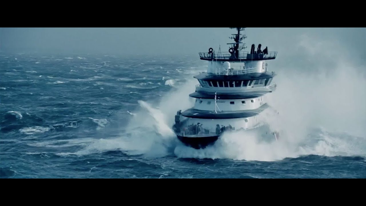Baltic Sea Storm On The Tallink Boat December 2015 Youtube