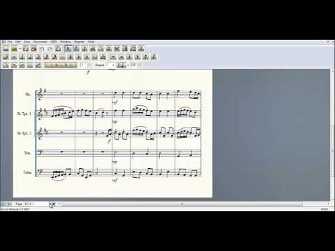 Music Technology Final Project: How to Use Finale Notepad 2012
